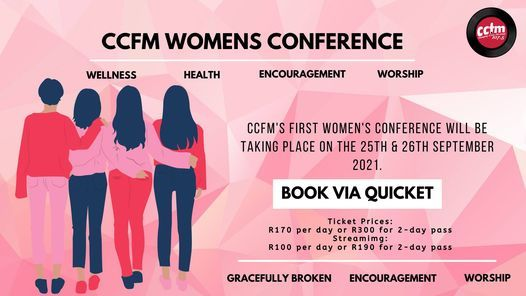 CCFm Womens Conference 2021, 25 September | Event in Cape Town | AllEvents.in