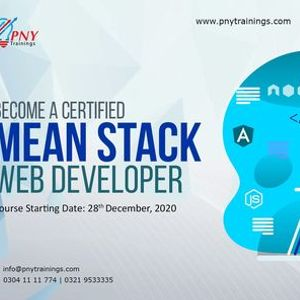 Become a Certified Mean Stack Web Developer (Arfa Tower)