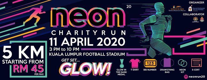 Neon Run 2020  Get Set Glow