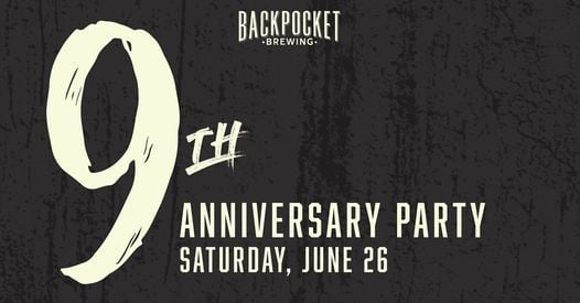 Backpocket Brewing's 9th Anniversary Party, 26 June | Event in Coralville | AllEvents.in