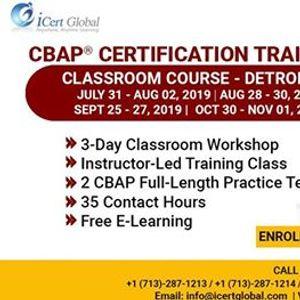 CBAP- (Certified Business Analysis Professional) Certification Training...