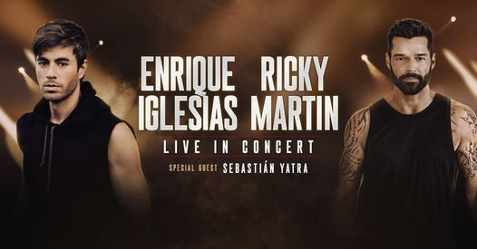 Enrique Iglesias & Ricky Martin, 16 September | Event in Los Angeles | AllEvents.in