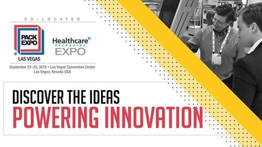 PACK EXPO Las Vegas and Healthcare Packaging EXPO 2019 at Las Vegas