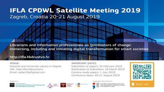 IFLA CPDWL Satellite Meeting