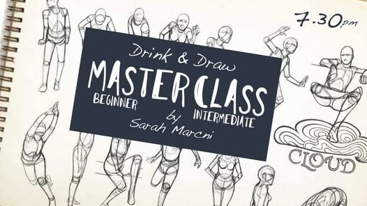 MASTERCLASS Drink & Draw, 3 May | Event in Ville de Phnom Penh | AllEvents.in