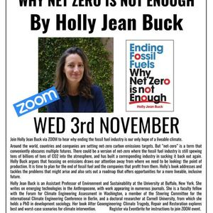 livestream Ending Fossil Fuels by Holly Jean Buck