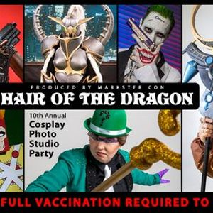 Hair Of The Dragon X (2021 Cosplay Photo Studio Party)
