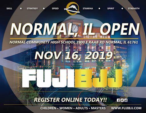 FUJI BJJ Normal, IL Open at Normal Community High School, Normal