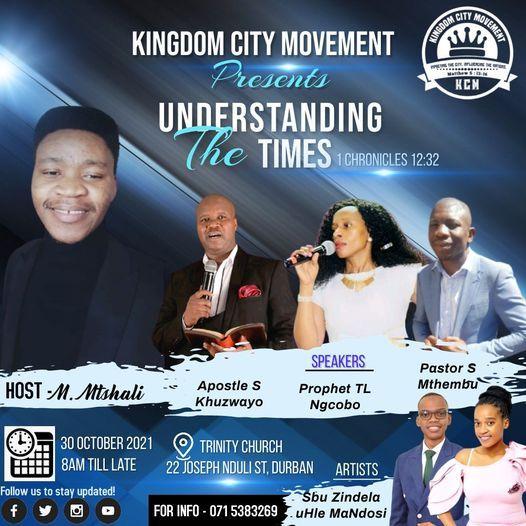 Understanding The Times, 30 October   Event in Durban   AllEvents.in