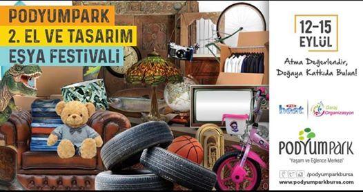 PodyumPark Tasarm Ve kinci El Festivali