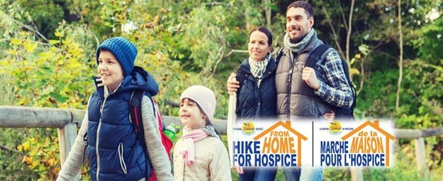 Hike from Home for Hospice 2020