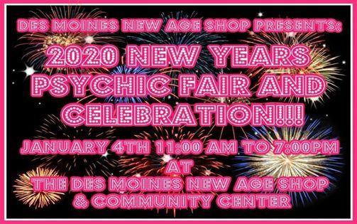 Kansas City Psychic Fair 2020.New Years Psychic Fair At Des Moines New Age Shop Des Moines
