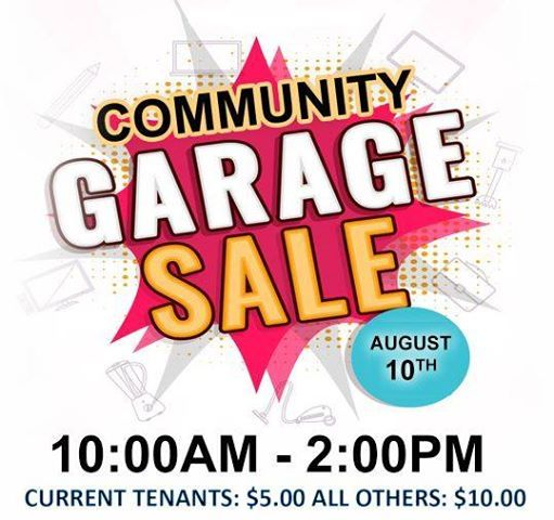 Riddlewood Sunnybrae community yard sale events in the City  Top
