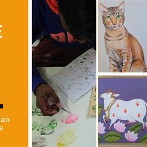 Indian Miniature Painting-Live Workshop-Family & Friends Discount