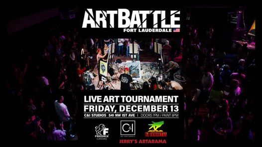 Art Battle Fort Lauderdale - December 13 2019