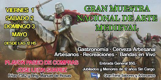 Muestra Nacional De Arte Medieval
