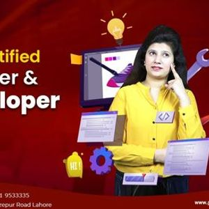 Become a Certified Web Designer and Developer