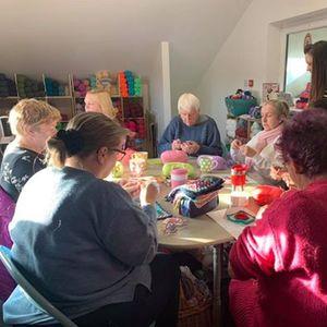 Charity Crochet Morning