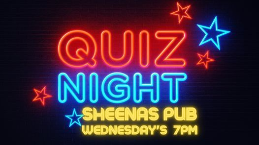 Sheenas Quiz Nights, 12 May | Event in Johannesburg | AllEvents.in