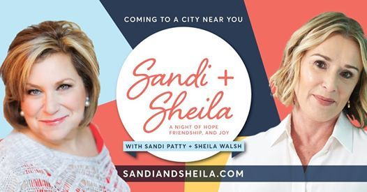 Sandi Patty and Sheila Walsh
