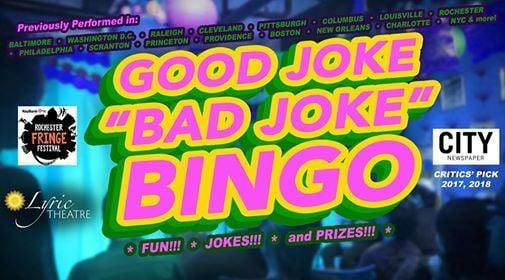 Good Joke/Bad Joke Bingo at Rochester Fringe Festival | Rochester