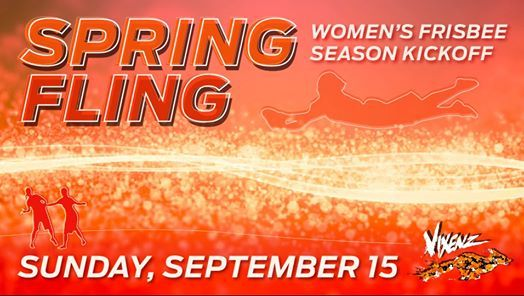 Spring Fling  Womens Ultimate Frisbee Tournament