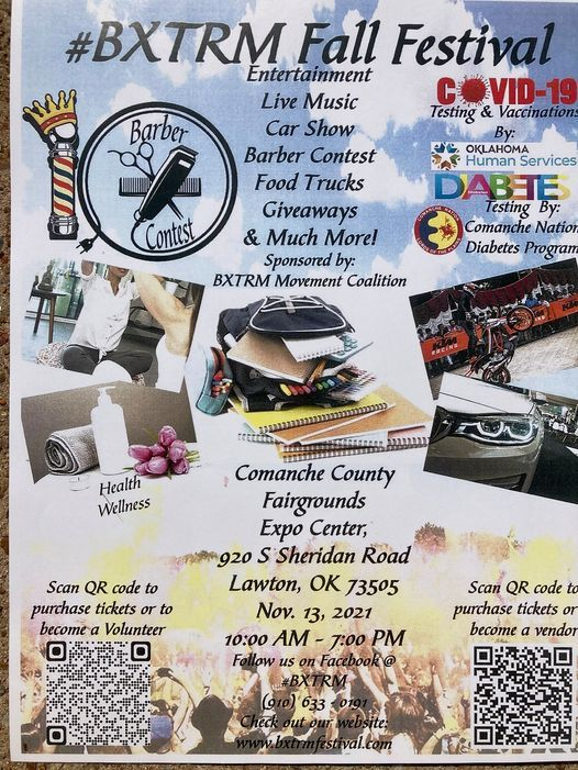 1st Annual #BXTRM Fall Festival 2021, 13 November   Event in Lawton   AllEvents.in