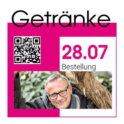 Getrnkeservice beim Musikfestival Steyr - Konstantin Wecker