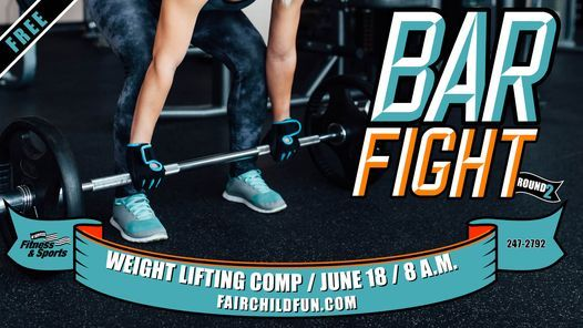 Bar Fight: Round 2, 18 June   Event in Fairchild Air Force Base   AllEvents.in