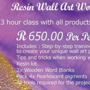 Wall Art Resin Workshop