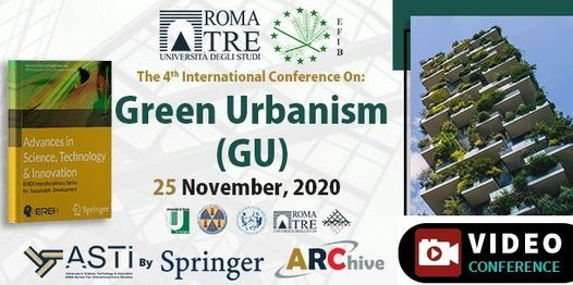 Green Urbanism (GU) – 4th Edition | Event in Rome | AllEvents.in
