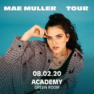 Mae Muller  The Academy Dublin Green Room