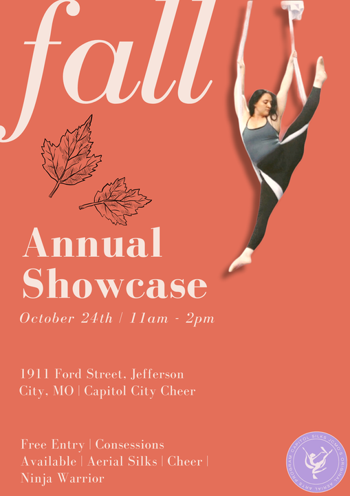 Annual Fall Showcase Aerial Silks, 24 October   Event in Jefferson City   AllEvents.in