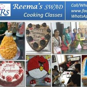 Cake Baking and Frosting - Online LIVE Class