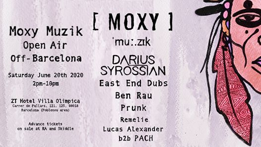 Moxy Muzik Off Barcelona - Open Air