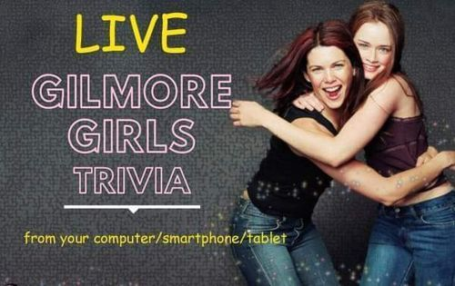 Gilmore Girls Trivia SOCIAL Fundraiser  (online)- Live Host | Event in Jersey City | AllEvents.in