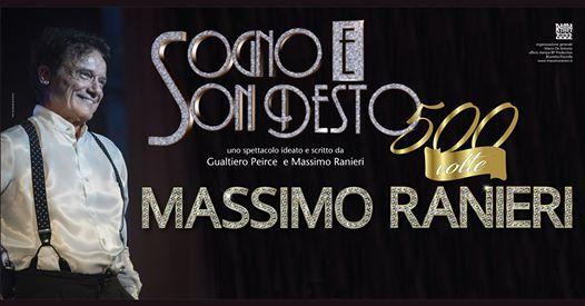 Massimo Ranieri  18 aprile  Ragusa