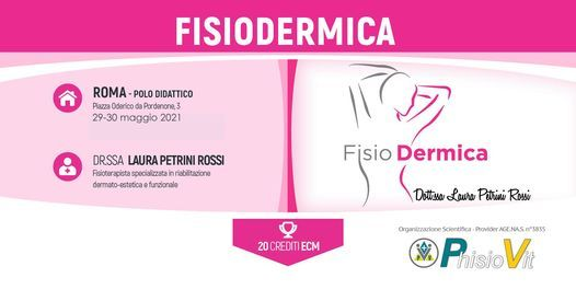 Fisiodermica, 29 May   Event in Rome   AllEvents.in