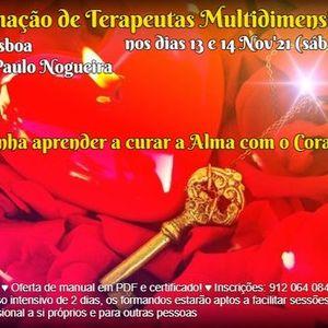 Curso de Terapia Multidimensional em Lisboa em Nov21