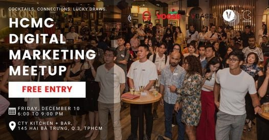 HCMC Digital Marketing Meetup, 6 August | Event in Ho Chi Minh City | AllEvents.in