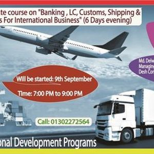 """Training on &quotBanking  LC Customs Process For Export-Import"""""""