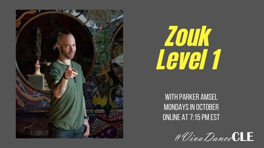 Online Zouk Level 1 with Parker | Event in Cleveland | AllEvents.in