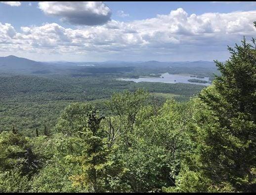 Saranac Lake 6ers part 2 : Scarface Mountain   Lake Placid