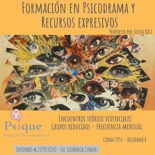 Formación en Psicodrama y Recursos Expresivos | Event in Vicente López | AllEvents.in