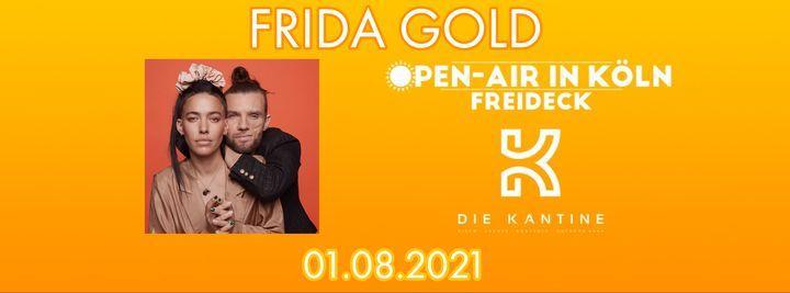 Frida Gold · Köln · Freideck - Kantine Open Air, 1 August   Event in Cologne   AllEvents.in