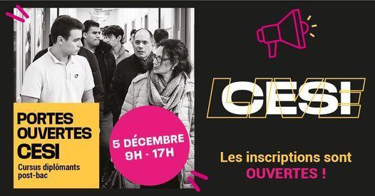 PORTES OUVERTES CESI BREST, 5 December | Event in Brest | AllEvents.in