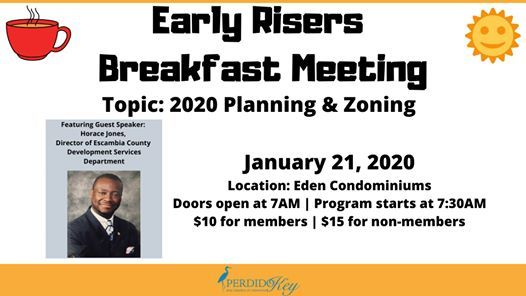 Early Risers Breakfast Meeting Planning & Zoning