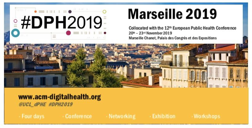 Digital Public Health Conference DPH2019 (For Exhibitors)