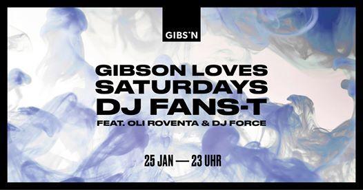 Gibson Loves Saturdays  25.01.