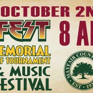 Jeff Fest Memorial Golf Tournament and Music Festival